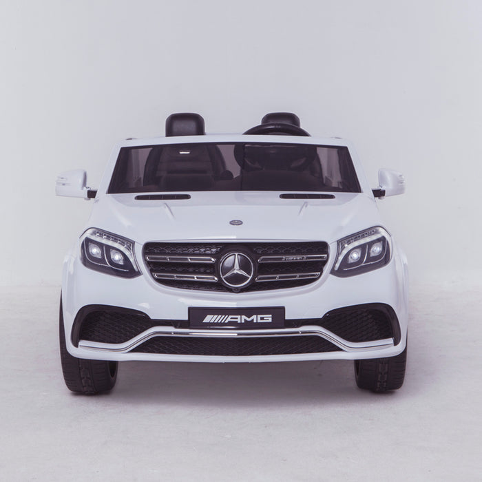 licensed kids 24v mercedes benz gls 63s amg ride on car jeep with parental remote control two seater front direct white 2 63 electric 4wd pink