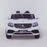 licensed kids 24v mercedes benz gls 63s amg ride on car jeep with parental remote control two seater front direct white 2 63 electric 4wd painted grey