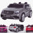 licensed kids 24v mercedes benz gls 63s amg ride on car jeep with parental remote control two seater gray Painted Grey 63 electric 4wd
