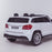 licensed kids 24v mercedes benz gls 63s amg ride on car jeep with parental remote control two seater rear close up white 63 electric 4wd