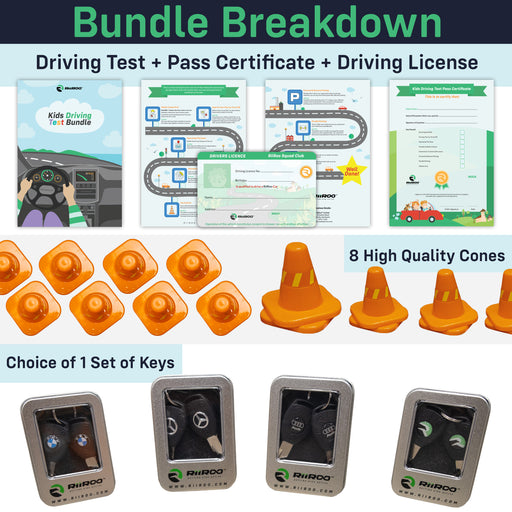 main image breakdown  audi driving test certificate bundle