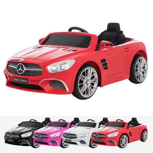mercedes benz sl400 licensed 12v battery electric ride on car with remote red2 Red licensed electric ride on car battery powered with remote music