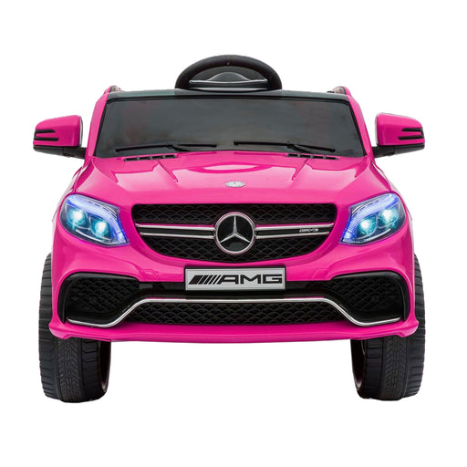 mercedes gle 63s kids electric ride on battery operated car with parental remote control pink front benz amg 63 s 12v 2wd