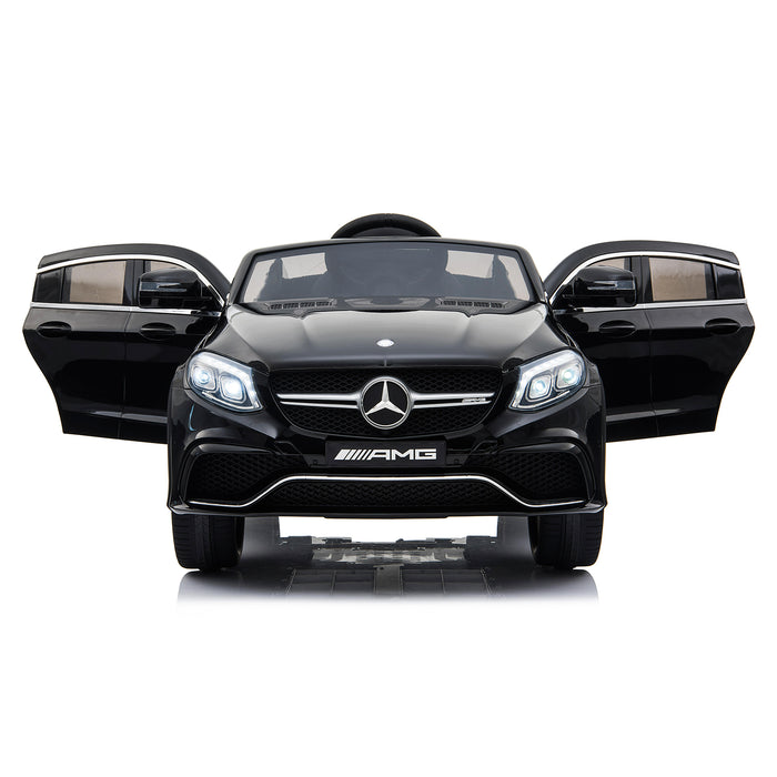 mercedes gle 63 coupe black 4 amg ride on car 12v 2wd