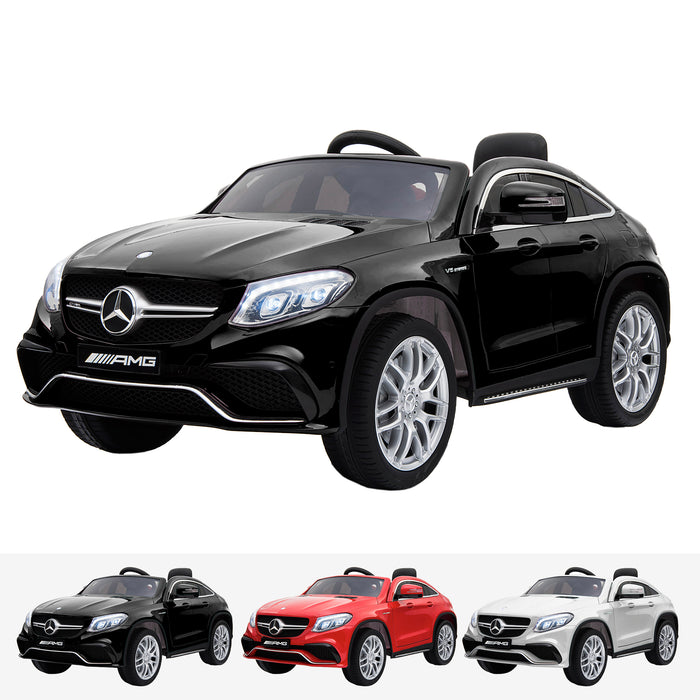 mercedes gle 63 coupe black amg ride on car 12v 2wd black
