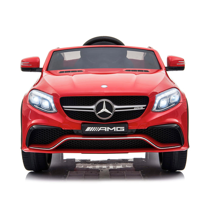 mercedes gle 63 coupe red 1 amg ride on car 12v 2wd