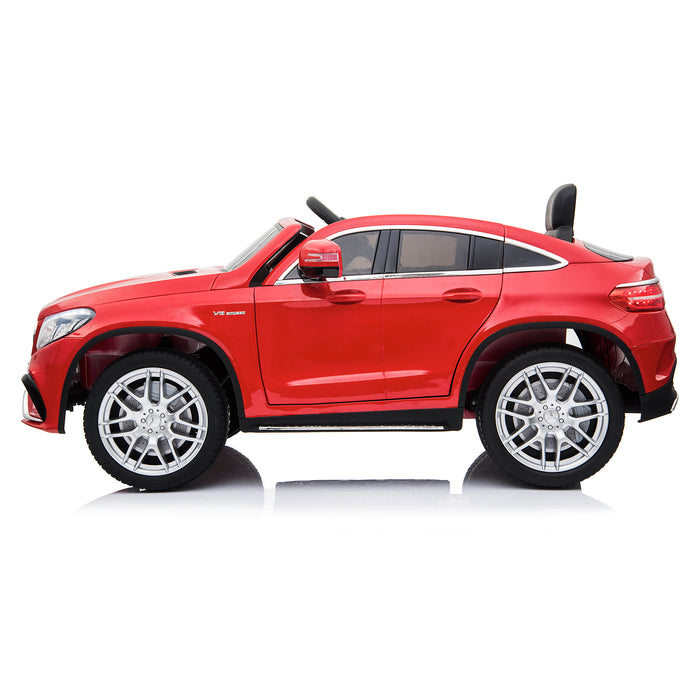 mercedes gle 63 coupe red 2 amg ride on car 12v 2wd