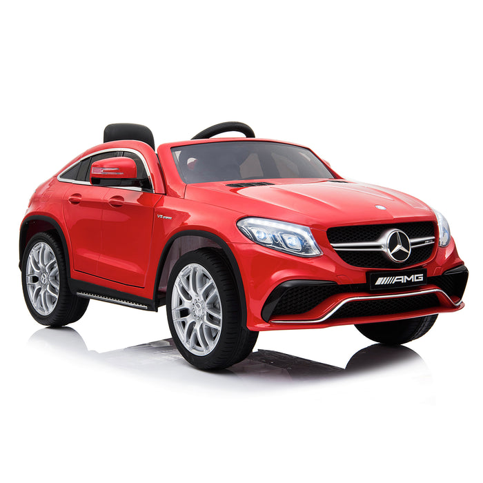 mercedes gle 63 coupe red 5 amg ride on car 12v 2wd