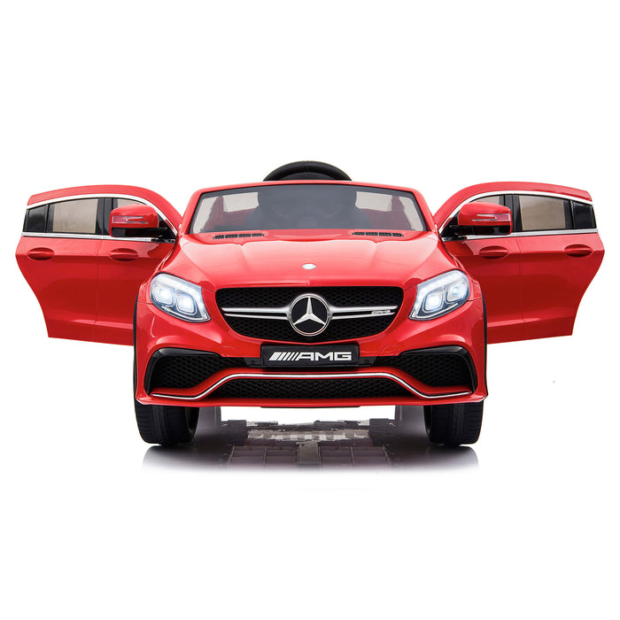 mercedes gle 63 coupe red 6 amg ride on car 12v 2wd