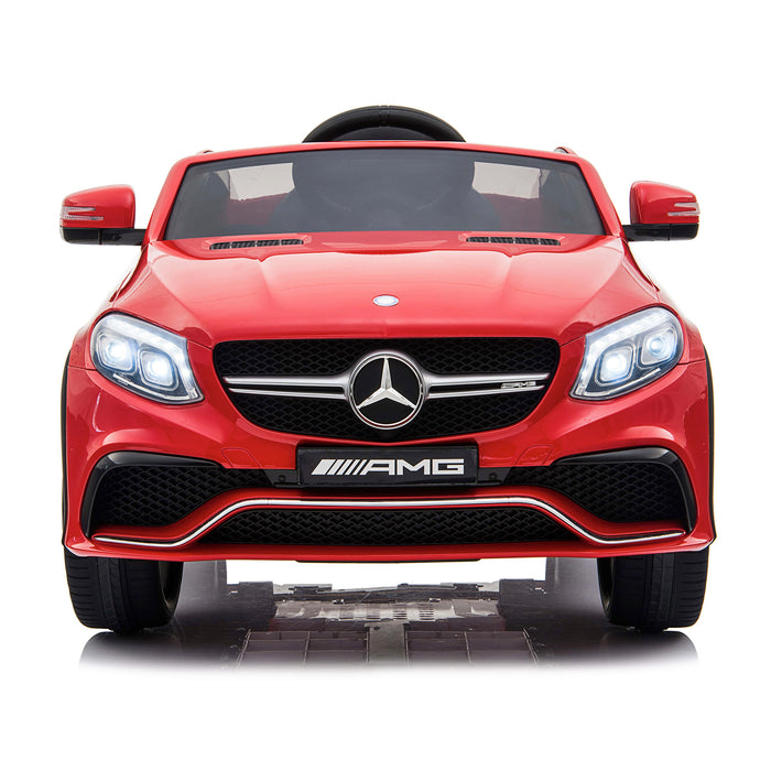 mercedes gle 63 coupe red 8 amg ride on car 12v 2wd