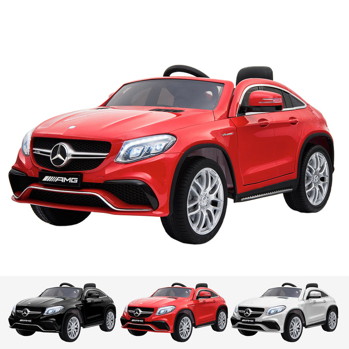 mercedes gle 63 coupe red amg ride on car 12v 2wd red
