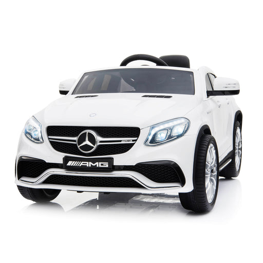 mercedes gle 63 coupe white 1 amg ride on car 12v 2wd