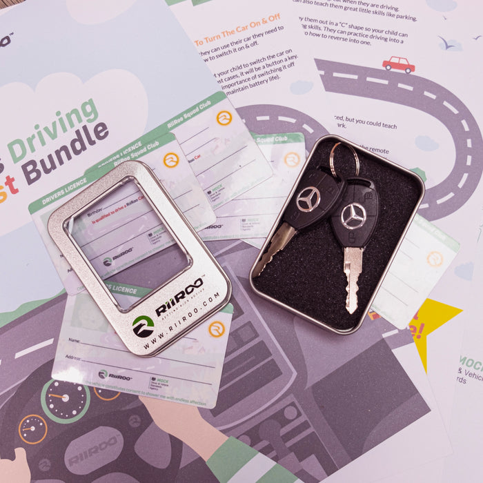 mercedes key driving test certificate bundle