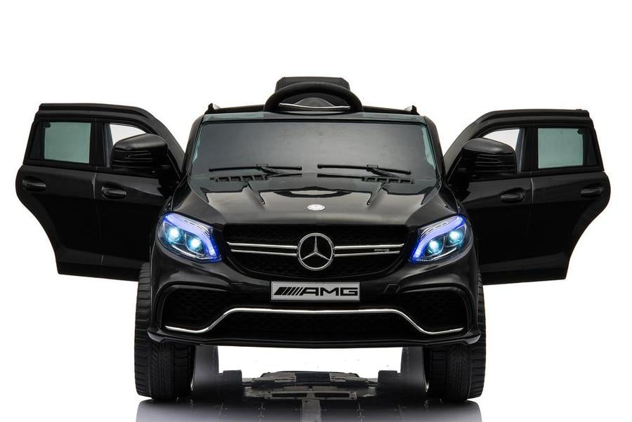 Mercedes Benz AMG GLE 63 S 6V In Black with doors open