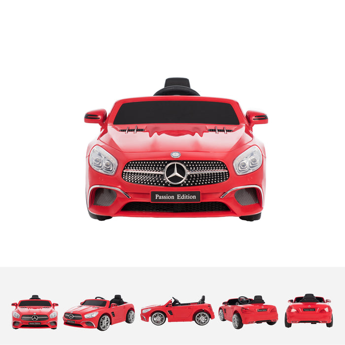 mercedes sl400 red front licensed mercedes sl400 electric ride on car battery powered with remote music pink