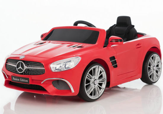 new mercedes benz sl400 licensed kids ride on car toy electric battery powered with remote music blue