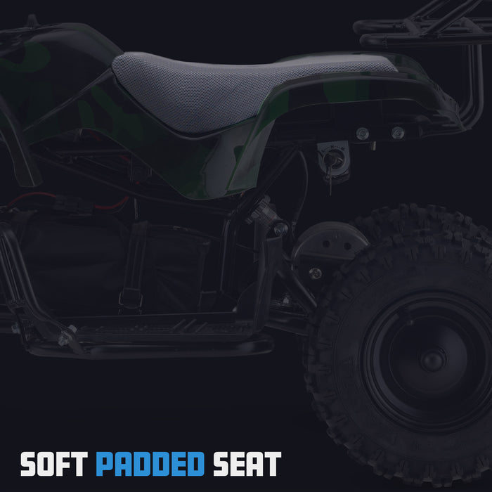 OneATV™ | EX3S | 36V | 1000W | ATV Quad Bike | Army Green