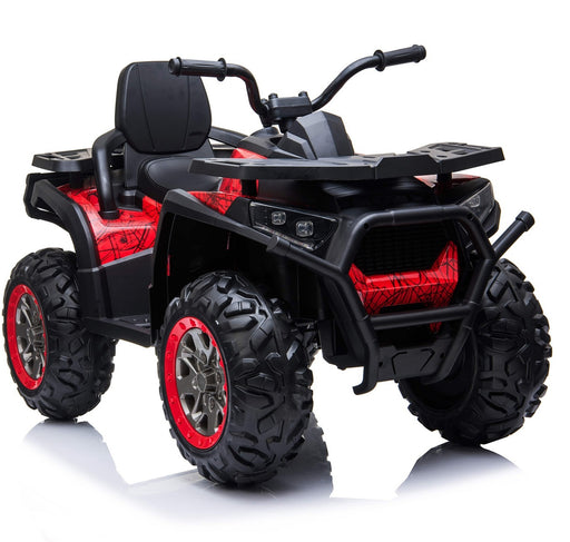 quad raptor xmx 607 red 5 riiroo 12v atv in spider