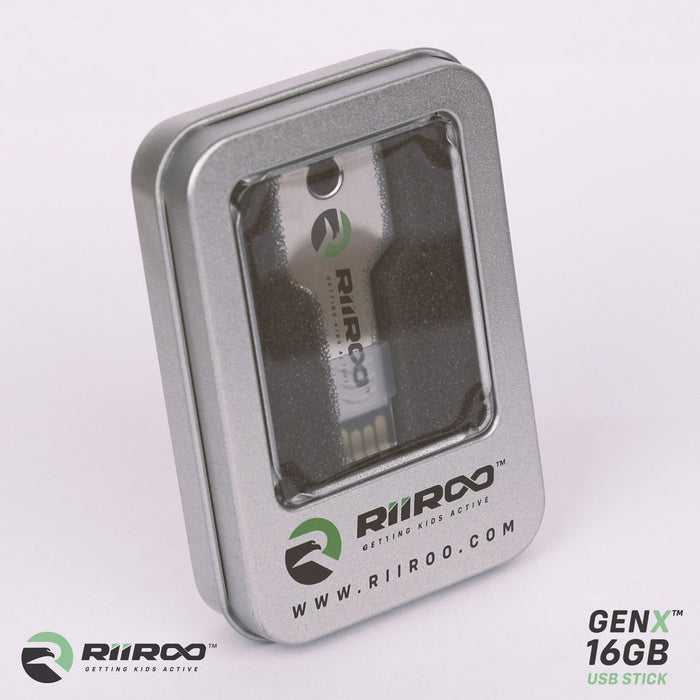 RiiRoo™ GenX™ 16GB Ride on Car Key Shaped USB Stick - 16GB