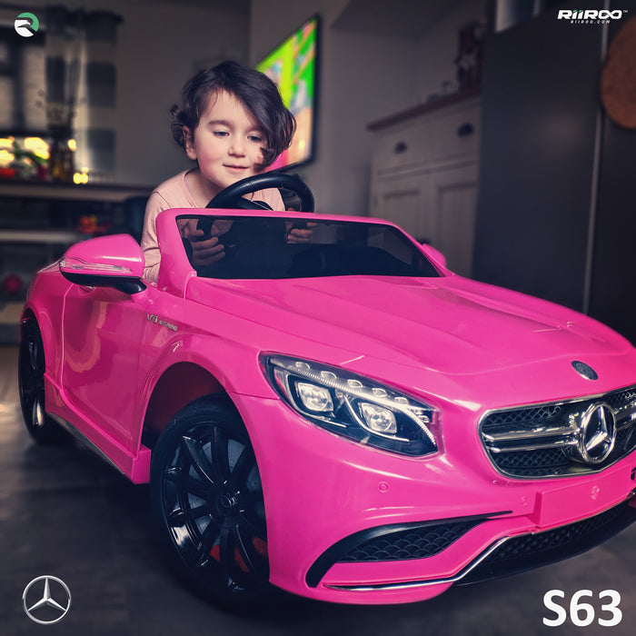 Mercedes S63 AMG - Pink
