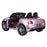 riiroo kids official licensed bentley continental supersport electric ride on car with parental remote pink 2 super sports 12v 2wd painted black
