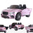riiroo kids official licensed bentley continental supersport electric ride on car with parental remote pink super sports 12v 2wd red black painted