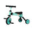 riiroo two in one trike green 2 1 kids tricycles toddler bike 3 wheels folding 4 years old