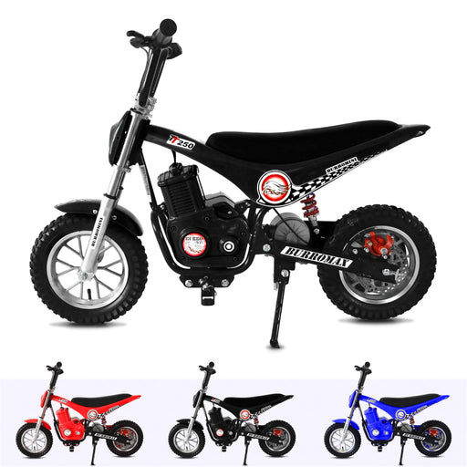 RiiRoo 250W Mini MotorCross Bike Black