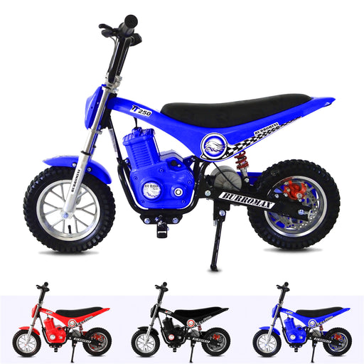 RiiRoo 250W Mini MotorCross Bike Blue