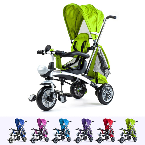 RiiRoo 4 In 1 Buggy Stroller Trike Bike