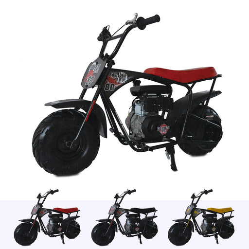 RiiRoo 80cc Petrol Mini Bike Red