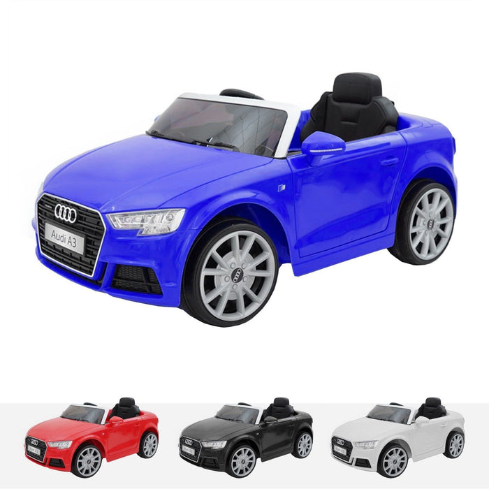 RiiRoo Audi A3 Cabriolet - 12V 2WD Blue