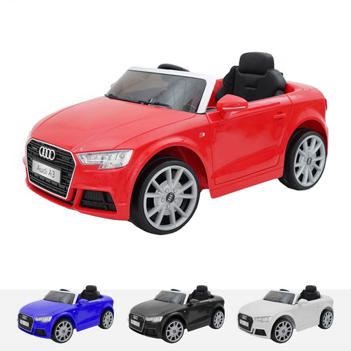 RiiRoo Audi A3 Cabriolet - 12V 2WD Red