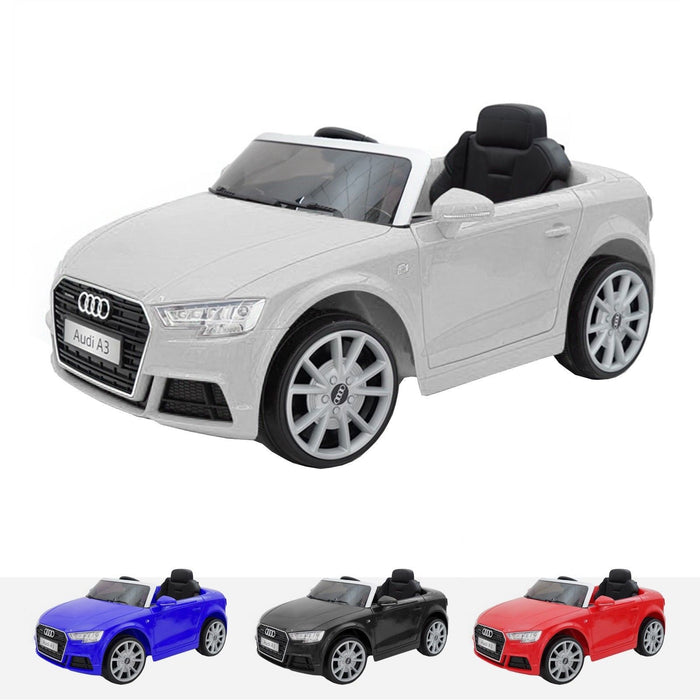 RiiRoo Audi A3 Cabriolet - 12V 2WD White