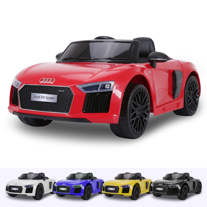 RiiRoo Audi R8 Spyder Maxi- 12V 2WD Red