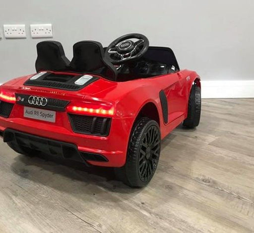 RiiRoo Audi R8 Spyder Mini - 12V 2WD Red