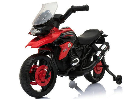 RiiRoo BMW 1200GS Style Ride On Bike - 6V Red