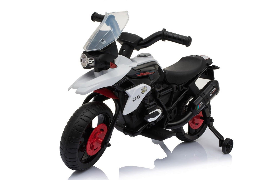 RiiRoo BMW 1200GS Style Ride On Bike - 6V White