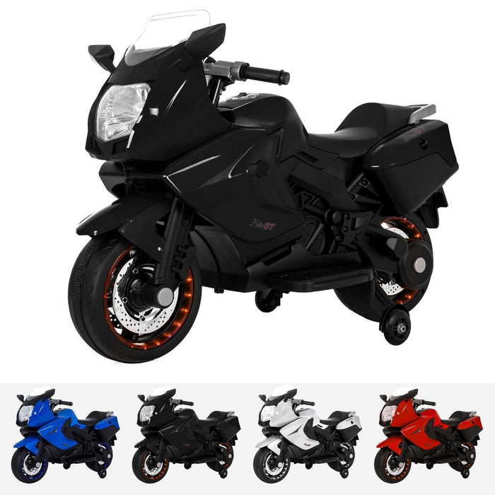 RiiRoo BMW F 800 GT Style Ride On Bike - 12V Black