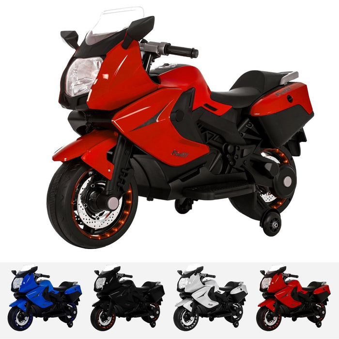 RiiRoo BMW F 800 GT Style Ride On Bike - 12V Red