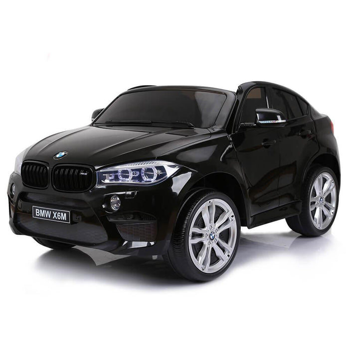 riiroo bmw x6m sport pack ride on car 12v 2wd painted black 8 1800x1800 bmw x6m sport pack ride on car 24v 2wd