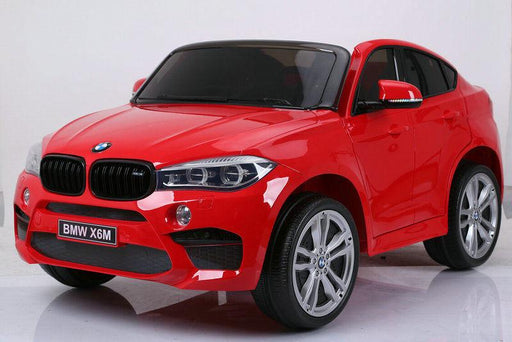 RiiRoo BMW X6M Sport Pack Ride On Car - 12V 2WD Red