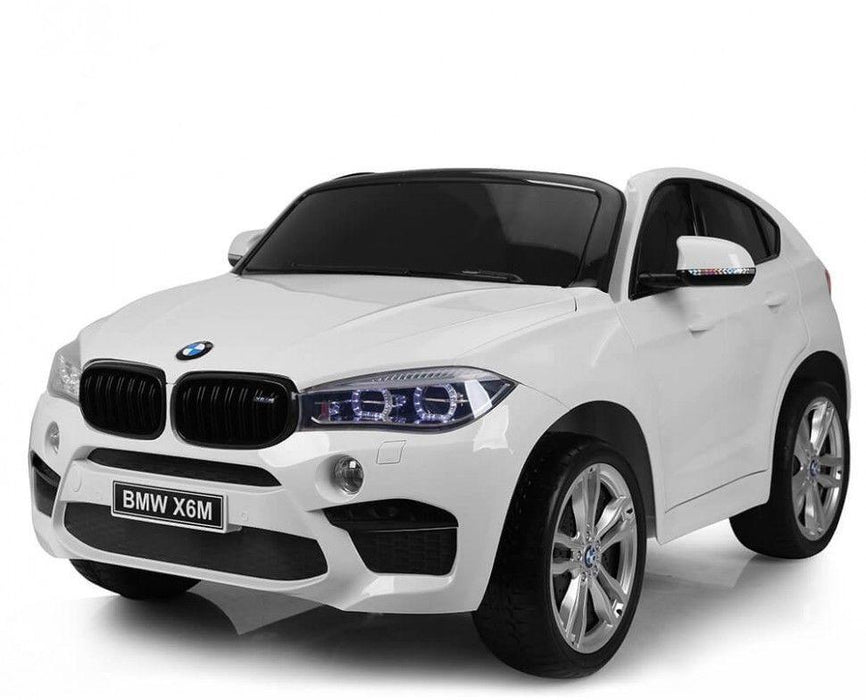 riiroo bmw x6m sport pack ride on car 12v 2wd white 20 1800x1800 bmw x6m sport pack ride on car 24v 2wd