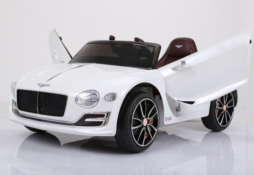 RiiRoo Bentley EXP12 Licensed Concept Ride on Car - 12V 2WD White