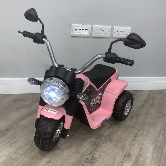 RiiRoo Ducati Chopper Style Kids 6V Battery Electric Ride On Motorbike/Trike