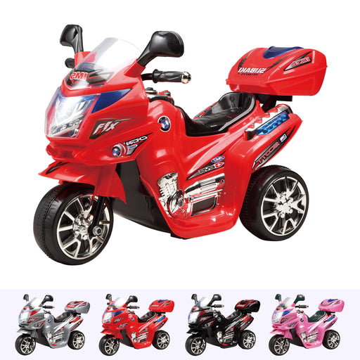 RiiRoo Electric Motorbike Trike Red