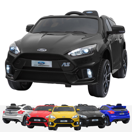 RiiRoo Ford Focus RS Ride On Car - 12V 2WD Black