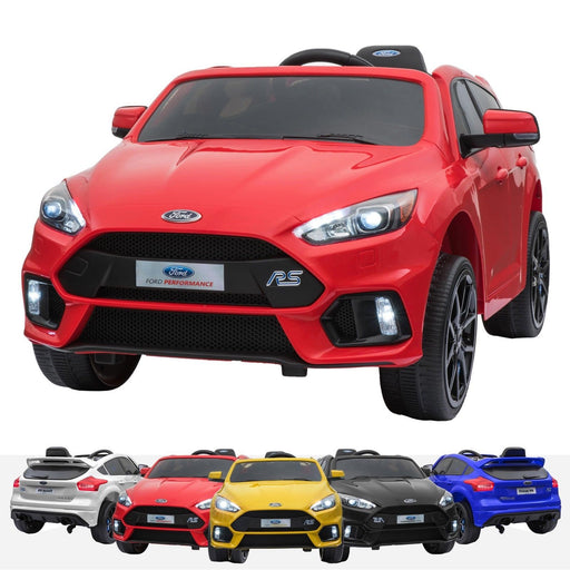 RiiRoo Ford Focus RS Ride On Car - 12V 2WD Red
