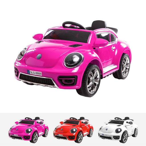 RiiRoo Kids VW Beetle Style Ride on Car - 12v Battery