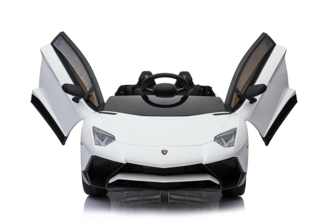 Lamborghini Aventador Licensed 12v Battery Electric Ride On Car Remote